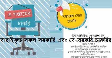 Ittefaq Weekly Jobs Circular